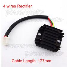 12V Voltage Regulator Rectifier 4 wire For GY6 150 200cc 250cc ATV Pit Dirt Bike