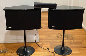 Bose 901 Series VI CONCERTO Speakers with  EQ, And tulip  stands