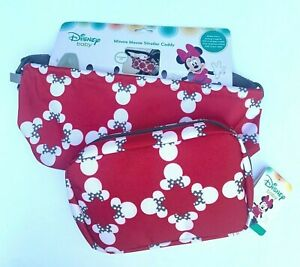 Disney Baby Minnie Mouse Stroller Caddy And Diaper Shuttle NWT