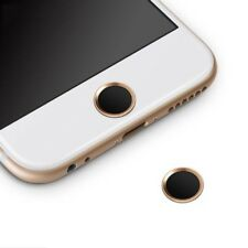 Protector Botón Home Menú para IPHONE 7 / IPHONE 8 Anillo Dorado y Negro i43