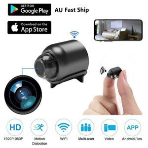 1080P Mini Hidden Spy Camera HD WiFi Wireless Night Vision Motion Detection AU