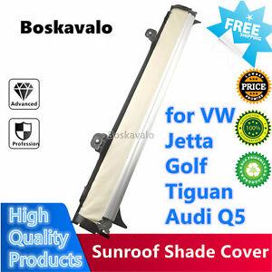 Panoramic Sunroof Sunshade Shade Curtain Cover For VW Jetta Golf Tiguan Audi Q5