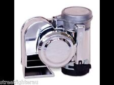 Stebel Nautilus Compact 12volt Air Horn Chrome 139dB  PART: GPNTC 12C