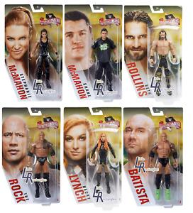 WWE Figures - Wrestlemania 36 Basic Series - Mattel - New - SHIPPING COMBINES