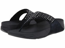 NEW Ladies FitFlop NOVY Supernavy Wobbleboard Thong Flip Flops Sandals - 8