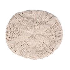 Women Fashion Warm Winter Beret Braided Baggy Knit Crochet Beanie Hat Ski Cap