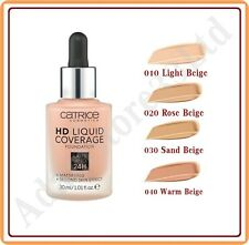 New Liquid Coverage Foundation 24h Mattifying Second Skin Effect 30ml CATRICE :)