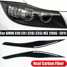 For Bmw E90/E91/328i/335i 2006-2011 Headlight Eyelid Eyebrow Cover Accessories (Fits: Bmw)