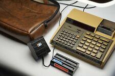 VINTAGE Hewlett Packard Model 97 Calculator with Original Bag AC Adapter