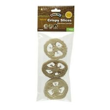 Set 2u Super Pet Natural Crispy Slices Cleans Teeth Dye-Free Loofah Chew 3 Pack