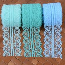 New Vintage Lace Ribbon Trim 45mm 10/50 Yards DIY Bridal Crafts Sewing Bows Deco