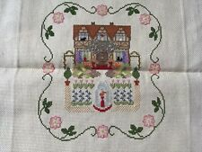 Cottage And Garden Pretty Cross Stitch Picture
