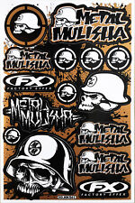 Metal Mulisha Rockstar Energy Sticker Bike MTB Motocross Vinyl Decal Graphic T18