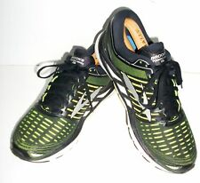 BROOKS Transcend 5 TRAINERS SHOES 8 Green Running Sneakers GYM TRAINING US9