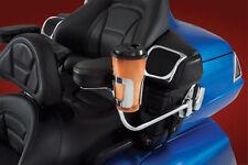Chrome Steel Passenger Armrest Cup Holder for Goldwing GL1200, 1500, 1800 52-836