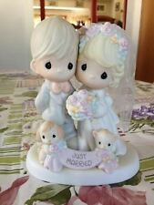 2004 Precious Moments Wedding Just Married Till The End Of Time 4001653 Signed