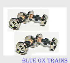 Proto Drive Gear Axles #584408 Life Like Replacement Walthers (4 axles)