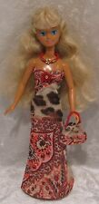 "COURTNEY, Skipper, Tinker Bell 10"" Doll Clothes #07 Dress, Necklace & Purse Set"