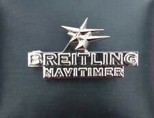 More details for breitling watches navitimer metal lapel pin badge