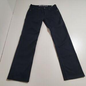 Mens Dickies Flex Regular Fit 32x34 Work Pants Black (33x31 actual)