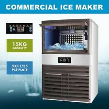 Stainless Steel Commercial Ice Maker Built In Undercounter Freestand 160lb24hr