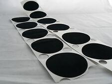 Baize CIRCLES adhesive sticky feltac felt flock backing circles pads for coaster