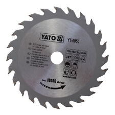 Yato Profi HM Kreissägeblatt Sägeblatt 130 x 16 mm 24 Zähne Hartmetall bestückt
