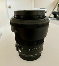 Sigma 18-200mm f/3.5-6.3 DC Macro HSM Lens for Canon EF