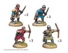 Crusader Miniatures DAN006 - Unarmoured Norman Bowmen - SAGA Dark Age