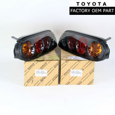 GENUINE TOYOTA 1997-1998 SUPRA TAIL LIGHTS DRIVER & PASSENGER OEM