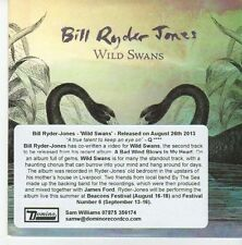 (EB190) Bill Ryder Jones, Wild Swans - 2013 DJ CD