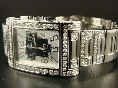 Aqua Master Jojo Joe Rodeo Square Diamond Watch 9.50 Ct