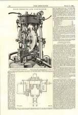 1894 De Alta Presión Aire Compresores Valentino Fils Paris