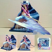 One Piece MIHAWK Anime Manga Figuren Figure Set H:16cm Set PVC + Box Neu
