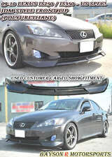 JDM-Style Front Lip (Urethane) Fits 09-10 Lexus IS250 IS350