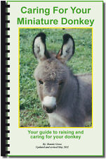 Caring for Your Miniature Donkey (Spiral Bound Edition)