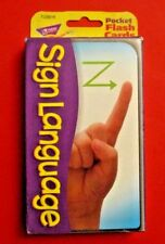 Sign Language Pocket Flash Cards Alphabet Basic Sign Cards Activity Cards Nice!