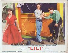 LESLIE CARON, Lili (R'64) Lobby Card #7, Mel Ferrer, Kurt Kasner
