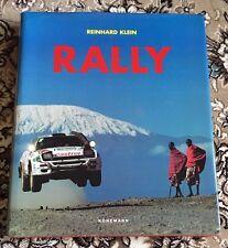RALLY Kummerly & Frey REINHARD KLEIN KONEMANN RACING HARDCOVER BOOK