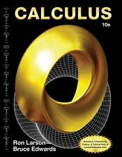 Calculus by Ron Larson and Bruce Edwards (2013, Hardcover, 10th Edition) NEW