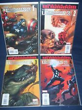 The Ultimates 3 #1 - #4 Marvel Comics NM with Bag and Board 2008