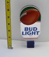 NEW Budweiser Tap Handle Bud Light of Beer Acrylic Football Bar Tavern Keg #25