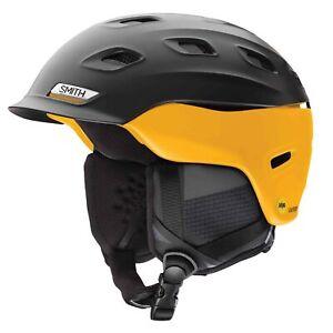 Smith Mens Vantage MIPS Ski Snow Helmet Matte Black Hornet Medium