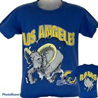 Vintage 1994 Los Angeles Rams Medium T Shirt NFL Football USA Made Graphic Tee