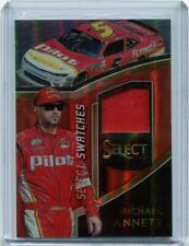 2017 Panini Select Michael Annette Prizm Select Swatches Race Used Firesuit /99