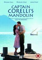 Capitán CORELLI'S Mandolin Nicolas Cage John Hurt Miramax GB DVD Nuevo y Sellado