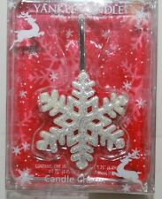 YANKEE CANDLE * SNOWFLAKE * Charm Clinger Jar Accessory CUTE! DRESS UP YOUR JAR