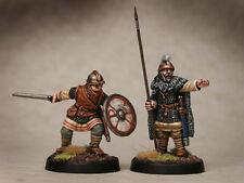 Edad oscura Gawain Y Galahad footsore Miniatures Saga 03art005
