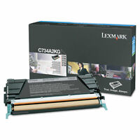 Lexmark C734A2KG High-Yield Toner 8000 Page-Yield Black