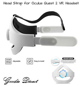 Replacement Head Strap Compatible for Oculus Quest 2 VR Headset Adjustable Redu.